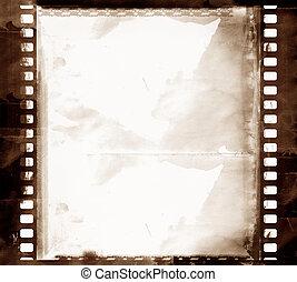 Grunge film frame - Computer designed highly detailed grunge...