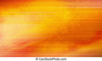 Abstract orange flash VJ Loop - Particle abstract orange...