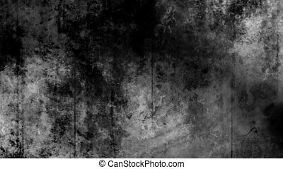 Black and White Creepy Grunge - Creepy grunge texture black...