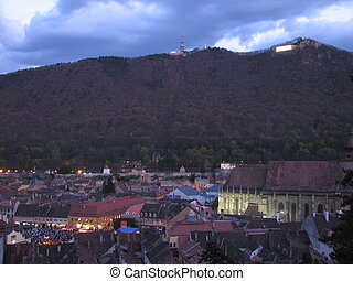 View of Brasov, Romania, Eastern Europe