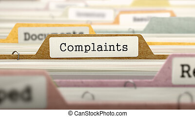 Complaints - Folder Name in Directory. - Complaints - Folder...