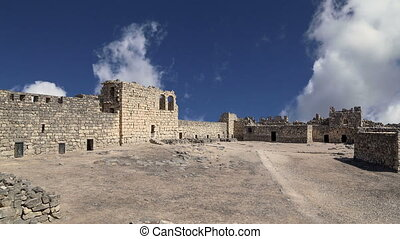 Ruins of Azraq Castle, Jordan - Ruins of Azraq Castle,...