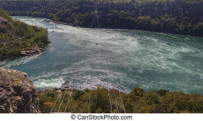 A Timelapse of the Whirlpool Rapids in Niagara Falls