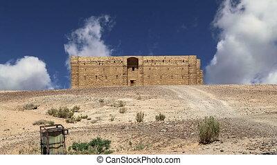 Qasr Kharana, Jordan - Qasr Kharana (Kharanah or Harrana),...