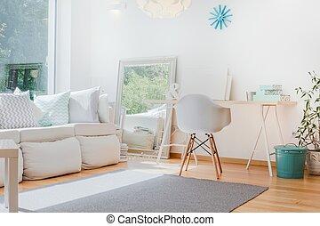 Bright cozy room