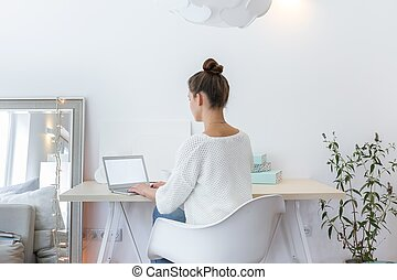 Space to work - Comfortable light space to work at home