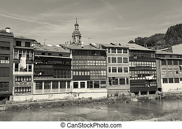 View of Balmaseda, Bizkaia, Basque Country, Spain