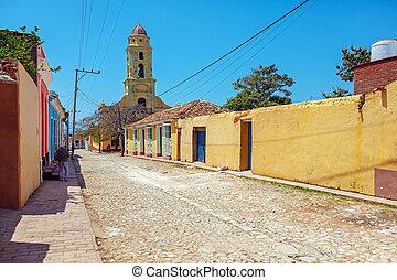 Iglesia de San Francisco de Asisin the old town, Trinidad,...