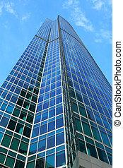 建築物, 高層建築, 辦公室