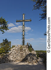 Cross in Rocamadour, Lot, Midi-Pyrenees, France