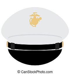 Cap officer of the US Navy - Headgear officer of the US...