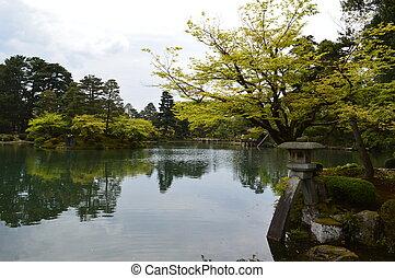 Kenrokuen in Kanazawa, Japan
