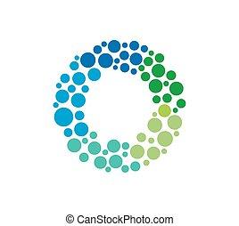 O Logo Concept Icon. Vector illustr
