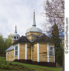 Wooden Church of St apostle Peter was built in 1721 One of...