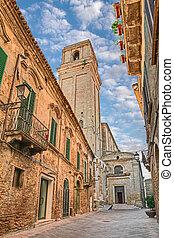 church of Santa Maria Maggiore in Vasto, Abruzzo, Italy -...