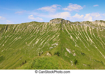 The Kafell peak in Austria - The Kafell peak during summer...