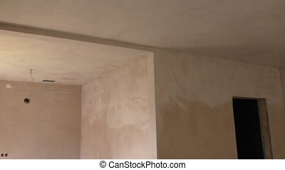 Finishing walls and ceiling,repair facilities