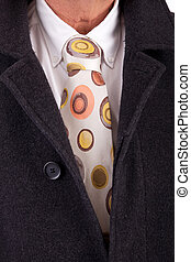 Suit and tie - Detail of a suit and a tie