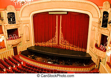 Opera House Interior - Stage