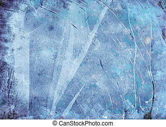 icy abstract grunge background texture