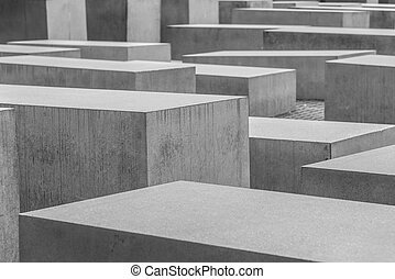 Holocaust - Mahnmal in Berlin Monument to victims of...