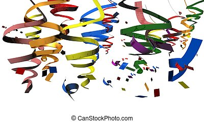 party carnival confeti background