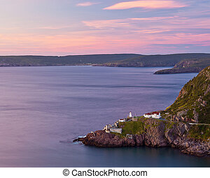 Newfoundland at Sunrise - Sunrise looking over Fort Amherst,...