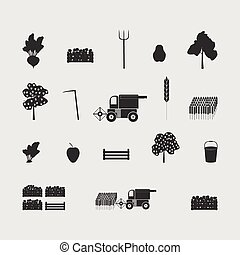 set of farm new drawing