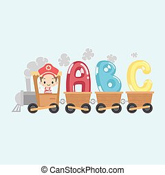 Kid Train with ABC
