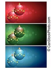christmas bulbs - set christmas bulbs