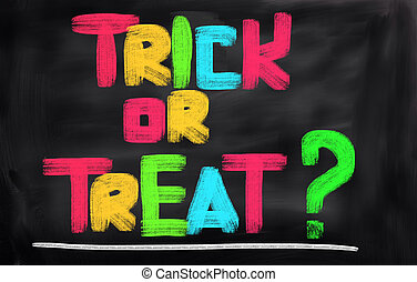 Trick Or Treat Concept