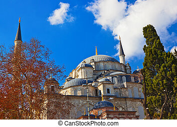 Fatih mosque in Istanbul Turkey