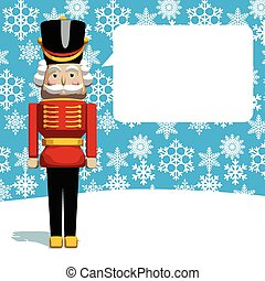 Christmas Greeting Card - Christmas greeting card. The...