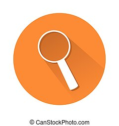 loupe symbol - This is an illustration of loupe symbol