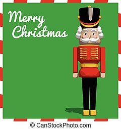 Nutcracker Christmas Soldier Toy - Nutcracker soldier toy...
