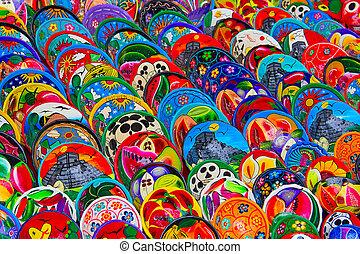 墨西哥人, 陶器制法