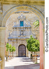 St Francis church, Cordoba, Andalusia, Spain