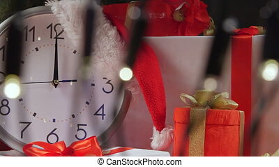 New Year Clock Countdown