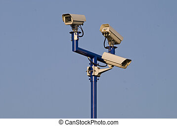 Video surveilance cameras - Three video surveilance cameras...