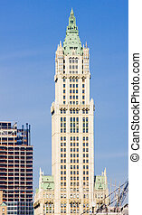 Woolworth building, Manhattan, New York City, USA