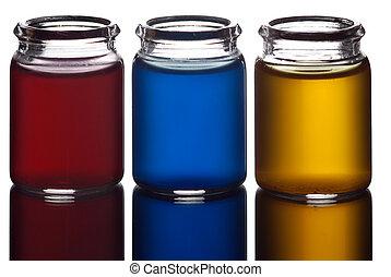 Colorful liquid