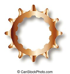 Bicycle Rear Driven Cog