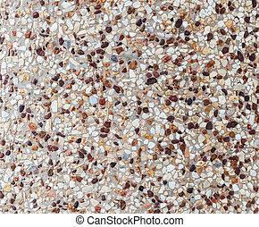 Gravel floor tile
