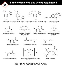 Food antioxidants and acidity regulators - Chemical...
