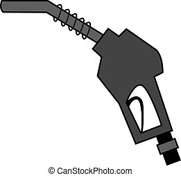 pump nozzle - graphical icon of pump nozzle
