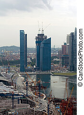 Building Construction, Singapore - Buildings under...