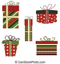 Set  of gift boxes