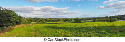 English countryside of Tanworth in Arden
