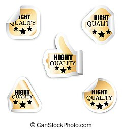 set of stickers - hight quality