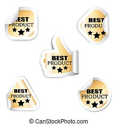 set five stickers - best product - This is set five stickers...